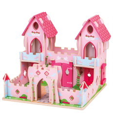Bigjigs Bigjigs Wooden Fairytale Palace - NEW -