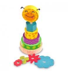 Fiesta Crafts Stack and Play Giraffe -