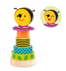 Fiesta Crafts Stack and Play Bee -