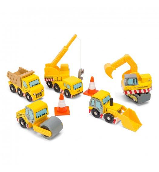 Le Toy Van Construction Cars -