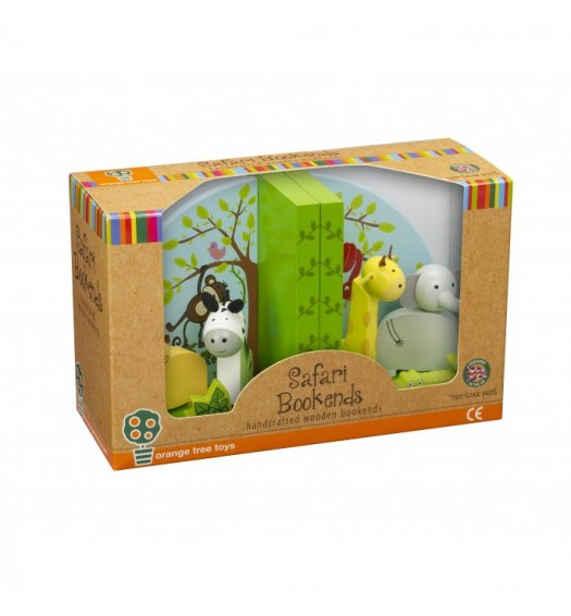 Orange Tree Toys Safari Bookends -