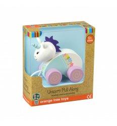 Orange Tree Toys Unicorn Pull Along -