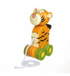 Orange Tree Toys Tigger Pull Along -