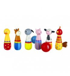 Orange Tree Toys Farm Yard Skittles -