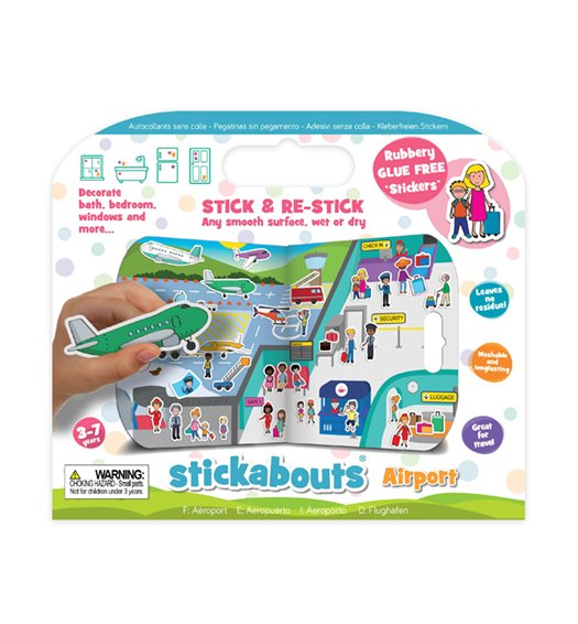 Fiesta Crafts Airport Stickabouts -