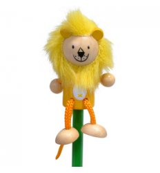 Fiesta Crafts Character Pencil - Lion -