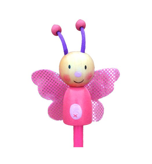 Fiesta Crafts Character Pencil - Butterfly -