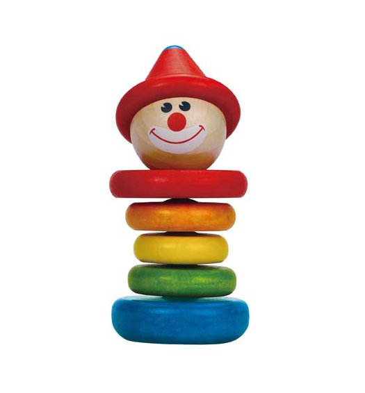 HAPE Happy Clown Rattle - E0010