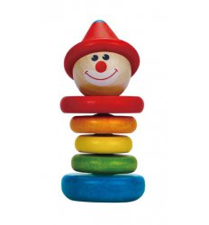 HAPE Happy Clown Rattle - E0010