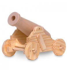 Fiesta Crafts Firing Cannon Craft Kit -