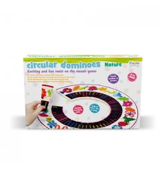 Fiesta Crafts Circular Dominoes - Nature -
