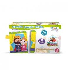 Fiesta Crafts Stick Puzzle - Castle -