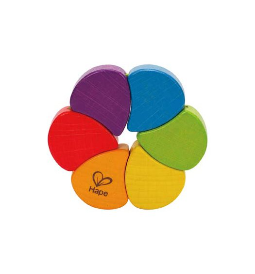 HAPE Rainbow Rattle - E0050