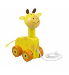 Orange Tree Toys Giraffe Pull Along -