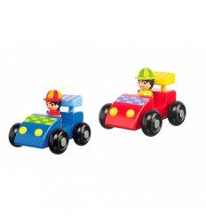 Orange Tree Toys Racing Car Set -
