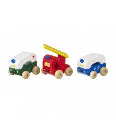 Orange Tree Toys First Emergency Vehicles -