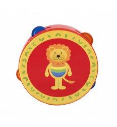 Orange Tree Toys Lion Tambourine -