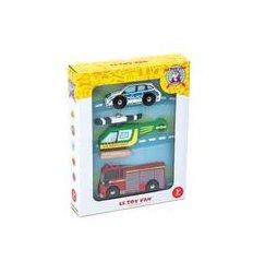 Le Toy Van Emergency Vehicle Set -
