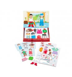 Bigjigs Mag Play Dress Up -