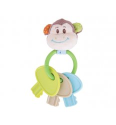 Bigjigs Cheeky Monkey Key Rattle -