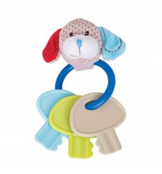 Bigjigs Bruno Key Rattle -