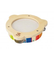 HAPE Early Melodies Rainbow Tambourine - E0302