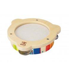 HAPE Early Melodies Rainbow Tambourine -