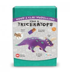 Fiesta Crafts Make a Triceratops - T - 2957