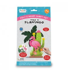 Fiesta Crafts Make a Flamingo -