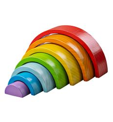 Bigjigs Stacking Rainbow (small) - Bigjigs -