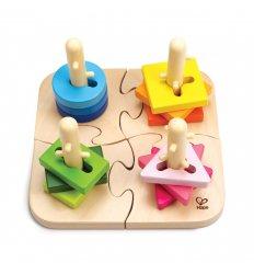 HAPE Creative Peg Puzzle - E0411