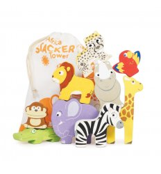 Le Toy Van African Stacking Animals -