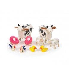 Bigjigs Farm Animals - Wooden -