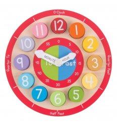 Bigjigs Teaching Clock - Bigjigs -