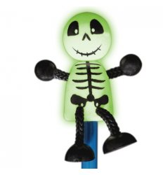 Fiesta Crafts Character Pencil - Skeleton Glow in the Dark -