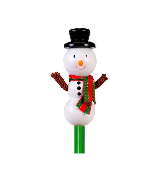 Fiesta Crafts Character Pencil - Snowman - P5167