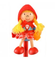 Fiesta Crafts Character Pencil - Red Riding Hood -