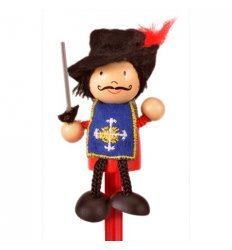 Fiesta Crafts Character Pencil Musketeer -