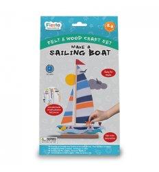 Fiesta Crafts Make a Sailing Boat Craft Kit -