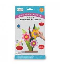 Fiesta Crafts Make a Bunch of Flowers Craft Kit -