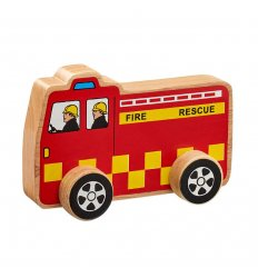 Lanka Kade Lanka Kade Push Along Fire Engine -