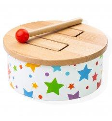 Bigjigs Wooden Drum - Bigjigs -