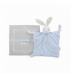 Kaloo Kaloo Perle Square Doudou Rabbit - Blue -
