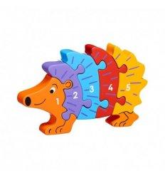 Lanka Kade Lanka Kade Hedgehog 1-5 Jigsaw - Fairtrade -