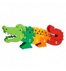 Lanka Kade Lanka Kade Crocodile 1-5 Jigsaw -