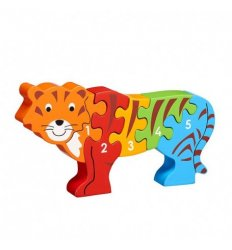 Lanka Kade Lanka Kade Tiger 1-5 Wooden Jigsaw - Fairtrade -