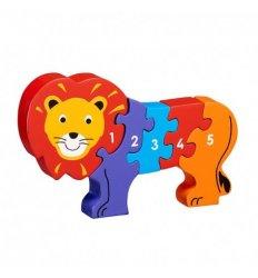 Lanka Kade Lanka Kade Wooden Lion 1-5 Jigsaw - Fairtrade -