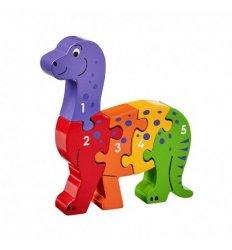 Lanka Kade Lanka Kade Wooden Dinosaur 1-5 Jigsaw  - Fairtrade -