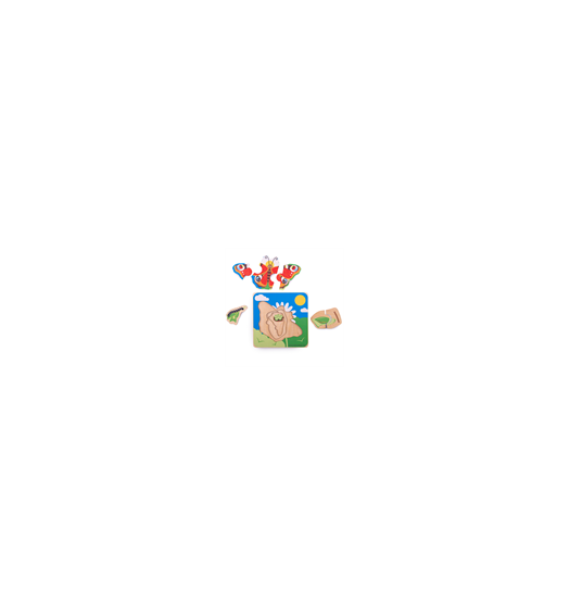 Bigjigs Lifecycle Layer Puzzle - Butterfly - Bigjigs - 33030