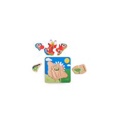 Bigjigs Lifecycle Layer Puzzle - Butterfly - Bigjigs -
